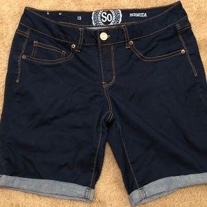 SO Jean Bermuda Shorts